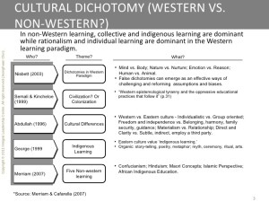 nonwestern-learning